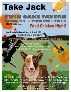 TAKE JACK at Twin Oaks 4-22